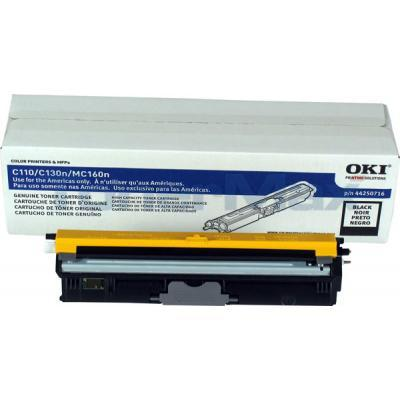 OKI C110 TONER CARTRIDGE BLACK HY